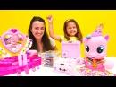 My Little Pony türkçe! 🦄 Pinkie Pie yeni saç modeli ve süs ister! Kuaför Oyunları. Bebek oyunu