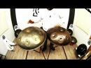 Meraki Small size - F Pigmy (F) Bb C Db F Ab Bb C Db -Handpan HcT Review