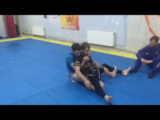 Revers De La Riva - X-Guard backtake. Drill Bjj no gi