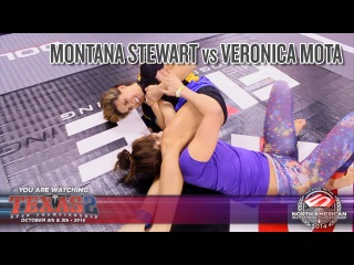 FIVE Grappling Texas 2: Montana Stewart vs Veronica Mota (Women Expert No Gi WW Final)