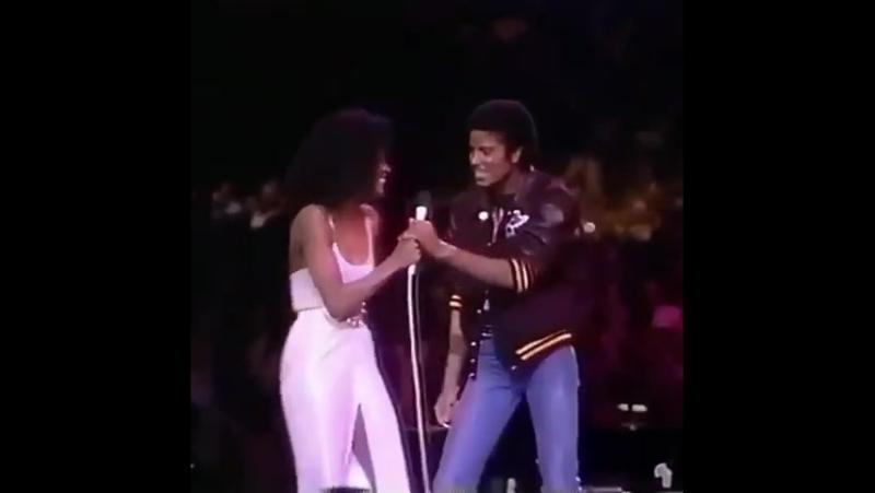 Diana Ross interpretam Upside Down no concerto especial de Diana. era Off The Wall MJJ777KING