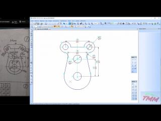 КОМПАС 3D - Создание параметрического эскиза Рамы