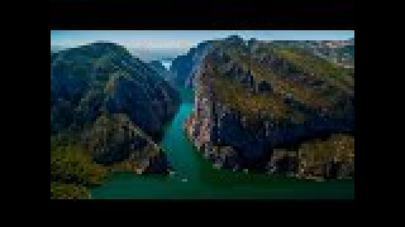 Türkiye'de bir doğa harikası Şahinkaya Kanyonu