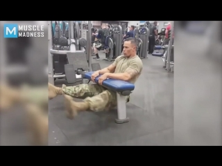 Super soldier fit strong _ muscle madness