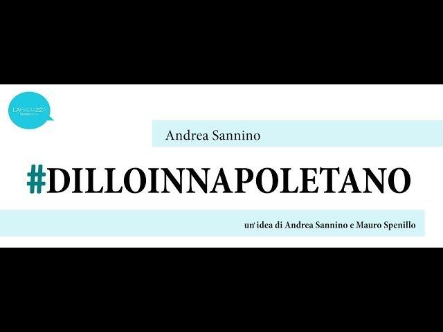 Andrea Sannino Senza Fine DILLOINNAPOLETANO Gino Paoli