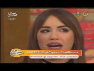 LALI EN GAMA TV ECUADOR