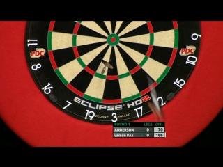 Gary Anderson vs Benito van de Pas (PDC Unibet Masters 2017 / Round 1)