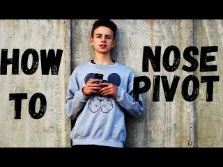 Как сделать ПИВОТ  на самокате | (How to Nose Pivot on a scooter)