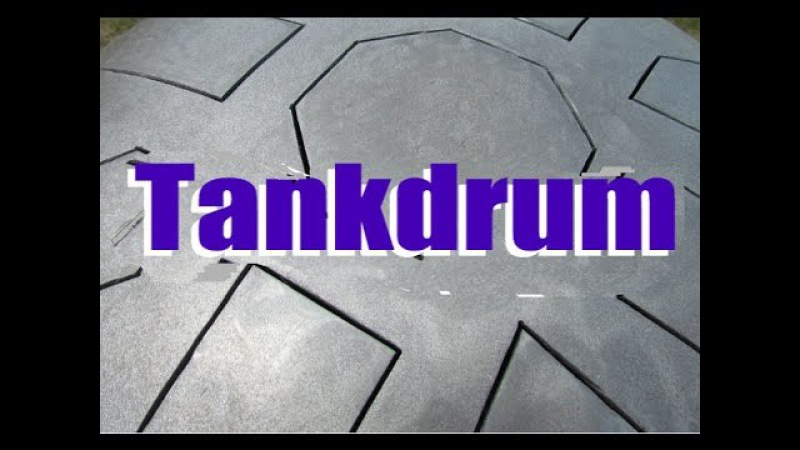 Tankdrum 13 - 17 note double-side in B Natural Minor