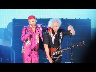 Queen + Adam Lambert Live Killer Queen/Two Fux/Don't Stop Me Now/Bicycle Race/Get Down Make Love