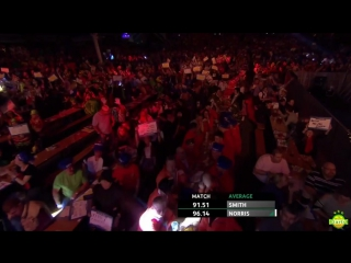 Michael Smith vs Alan Norris (Coral UK Open 2017 / Round 5)