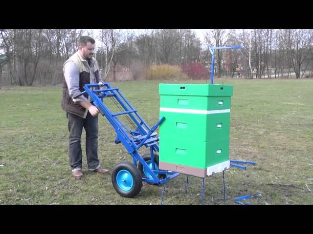 Wózek pasieczny 2013 mechaniczny