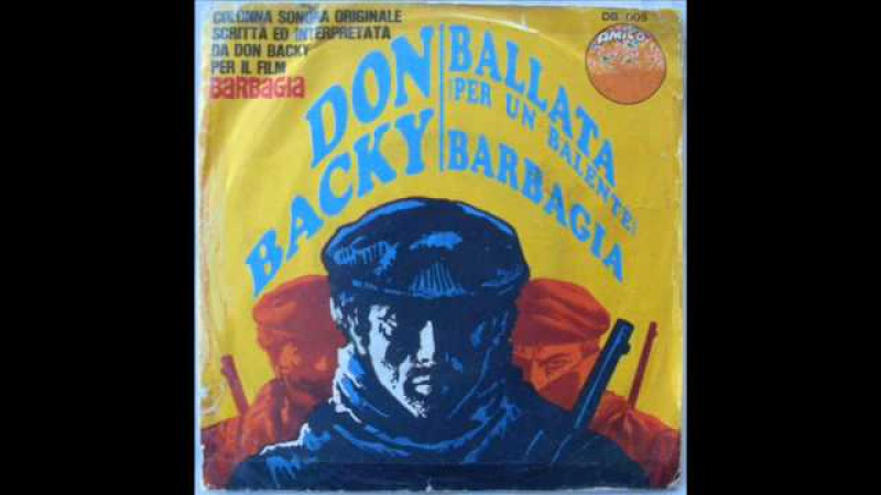 DON BACKY BALLATA PER UN BALENTE 1969