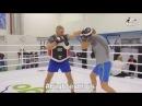 Тренировочное видео спарринга бокс по лапам 4 раунда по 3 минуты VLOG FighterElvis eurosports.lv