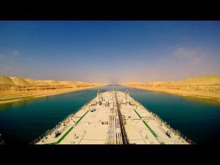 Suez Canal Timelapse - Full Transit HD GoPro