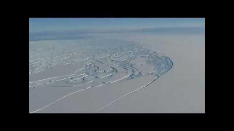 АНТАРКТИДА Запретное видео Для чего твари жидо рептилоиды режут лёд 7520