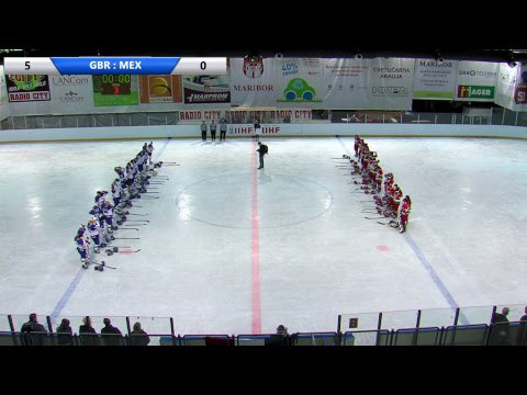 IIHF Women's WC Slovenia GBR MEX