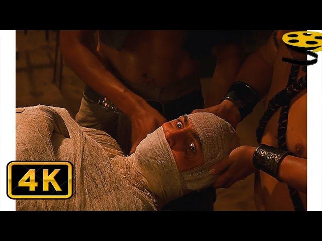 Мумификация Имхотепа   Мумия(1999) HD