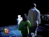 nick carter surprising aaron on stage 1999 - YouTube