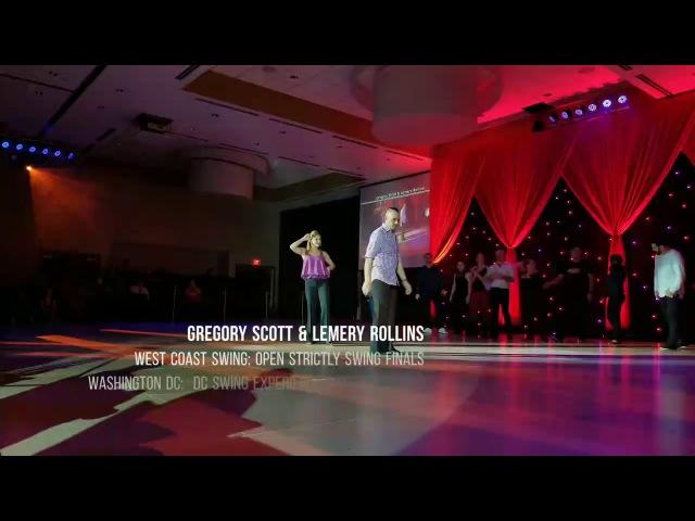 Gregory Scott Lemery Rollins West Coast Swing: 1st place Open Strictly @DCSX2017
