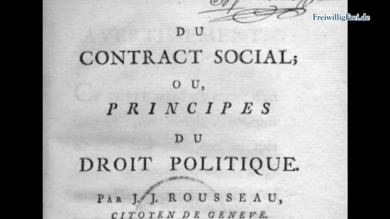Der Gesellschaftsvertrag Herrschaftslegitimierung für Schwachsinnige