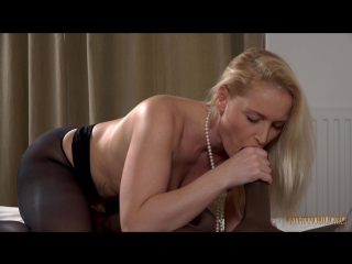 Kathia nobili - cum in my slutty white mouth my big black cock lover!!! and i want you to watch!!!