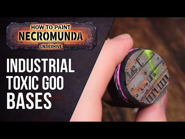 How to Paint Necromunda Bases Part 1 Toxic Goo Effect