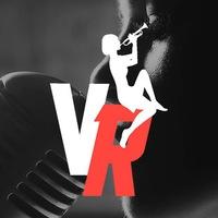 Логотип VR Jazz Agency / Агентство Виктора Радзиевского