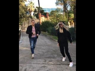 Фёдор Стрелков и Кристина Лясковец отрываются и веселятся на отдыхе в Сочи