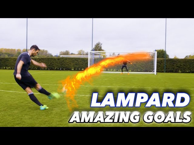 FRANK LAMPARD THE F2 EPIC SHOOTING SESSION AMAZING GOALS