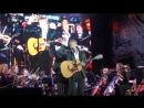 Дмитрий Харатьян и Сергиево Посадский оркестр Песня боцмана Чайки 09 09 2017 День района