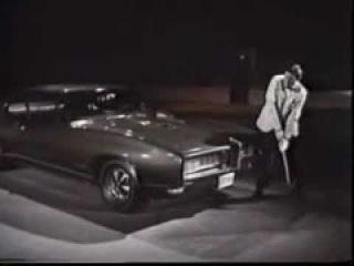 Вот это я понимаю концепция автомобильной рекламы! Pontiac GTO 1968 года