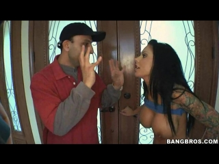 10.  ashli orion, london keyes, mason moore(cleaning out the pipes)