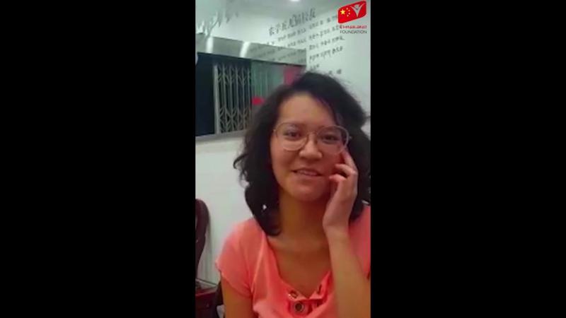 Магданова Дайана из г.Алматы - Обучается по программе Chinaland.kz в Китае в г.Чанша