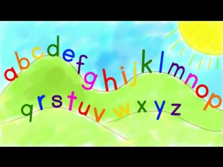 The ABC Song. Песенка про английский алфавит