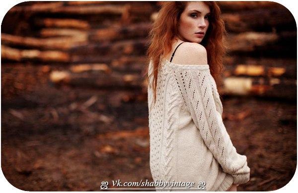 Образ для фотосессии в свитере