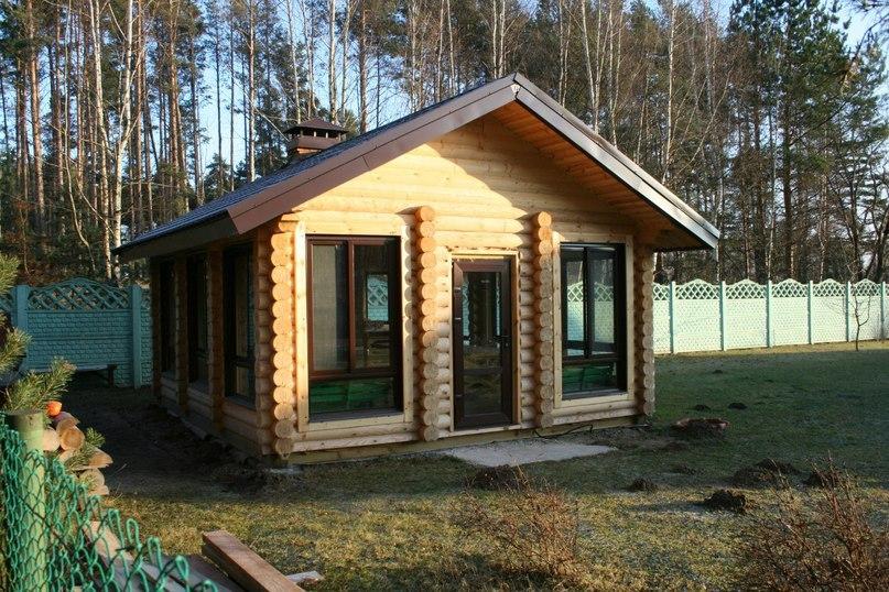 Летняя кухня из бревна для дачи: функциональное сооружение, изображение №5