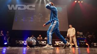 GOOD FOOT(YOSHIKI GEN ROC) vs Hastle Kidz(Justen & Kid Colombia) BEST4 BREAKIN' WDC 2018 FINAL