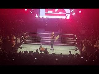 [WBSOFG] Dean Ambrose attacks Seth Rollins at WWE Live Madrid 2018 Roster Brawl