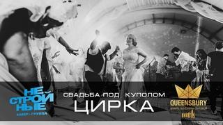 кавер-группа Нестройные на свадьбе в стиле ЦИРК!