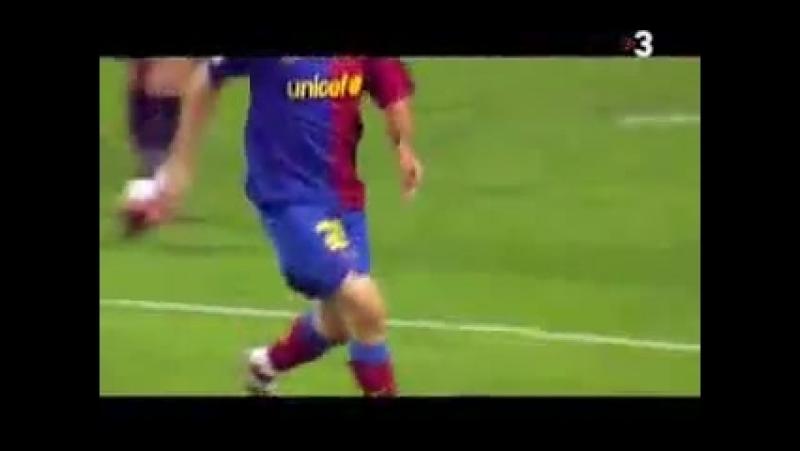 ФК БАрселона ролик показанный им перед финалом ЛЧ2008 09
