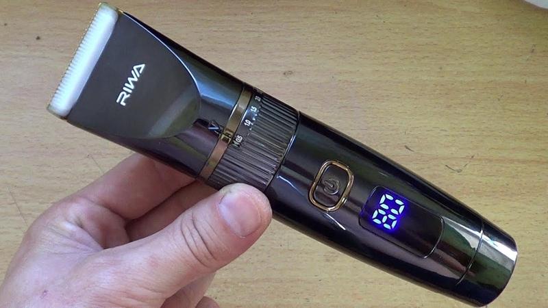 Водонепроницаемая аккумуляторная машинка для стрижки RIWA RE 6501