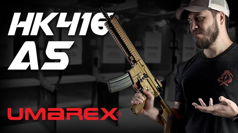 The One GBBR To Rule Them ALL Umarex HK416 A5 GBBR RedWolf Airsoft RWTV