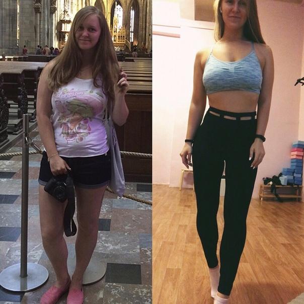 В 15 лет похудела