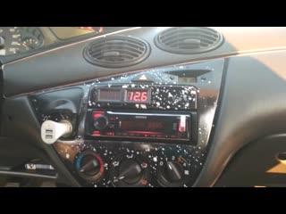 Громкий Ford Focus I Wagon! обзор