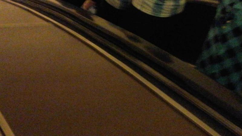 В Петербургской подземке, любители футбола в бело-голубых футболках дружно поют...
