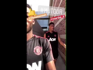 Toto and timbo at @ucla. mutour mufc [ig]