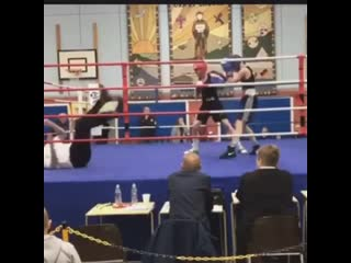 Когда боксируют боксеры, а падает судья