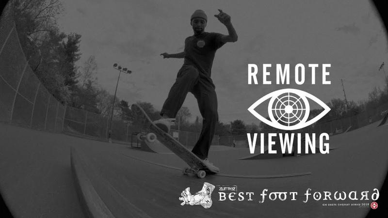 Zumiez Best Foot Forward 2018 Maurio McCoy Remote Viewing