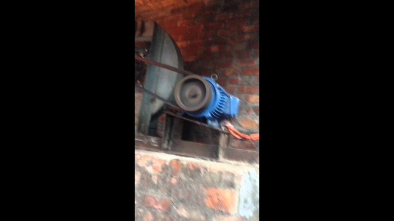Cupola Furnace In Operation